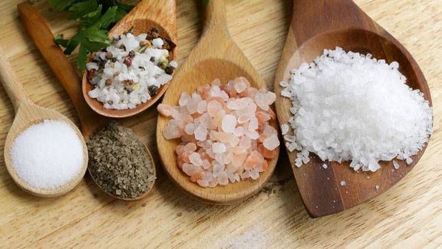 انواع نمک
